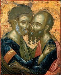 Ποιά λόγια άξια να βρει κανείς για να εγκωμιάσει τους Πρωτόθρονους των Αποστόλων;