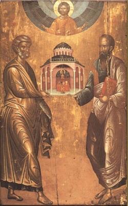 «Πέτρος και Παύλος: Απόστολοι και μάρτυρες της Ευρώπης»