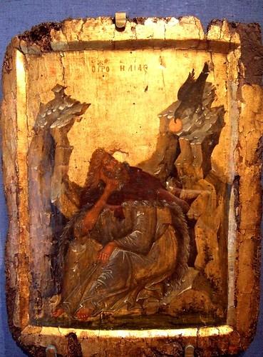 Ὁ Πύρινος Ἅγιος. Ἠλίας ὁ Θεσβίτης , Φώτη Κόντογλου