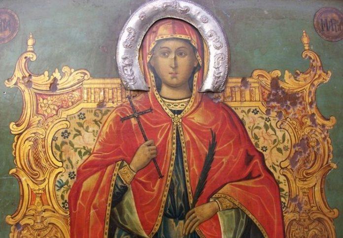 Η Αγία Μαρίνα η Μεγαλομάρτυς