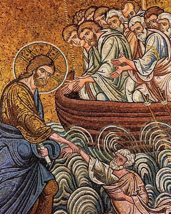 Κυριακή Θ' Ματθαίου: Θαρσείτε, εγώ ειμί, μή φοβείσθε - Ιστοσελίδα Ιερού  Ναού Παναγίας Μυρτιδιώτισσας Αλίμου