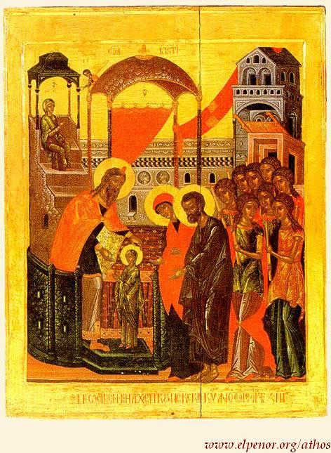 Η σιωπή της Μαρίας – Τα Εισόδια της Θεοτόκου, Καλλίστου Ware
